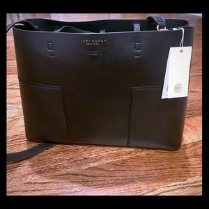 Tory Burch NWT Block-T Triple Compartment Tote